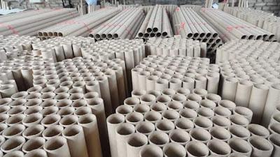 Tubos de cartón para la industria textil
