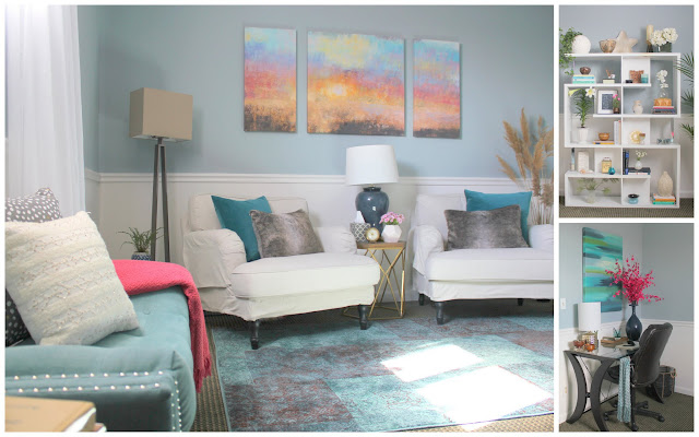 Interior Decorator,Therapy Office Design, Psychotherapy Tranquil Decor, Rockland County, NY