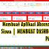 Membuat Dashboard Mirip Website di Microsoft Excel | Membuat Aplikasi Absen dan Nilai Siswa