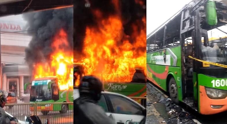 2 dead in Fairview, QC bus fire