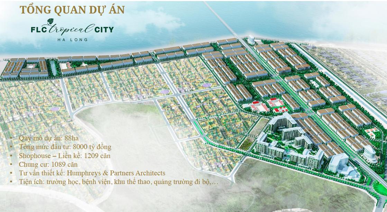 Phối cảnh tổng thể dự án FLC Tropical City