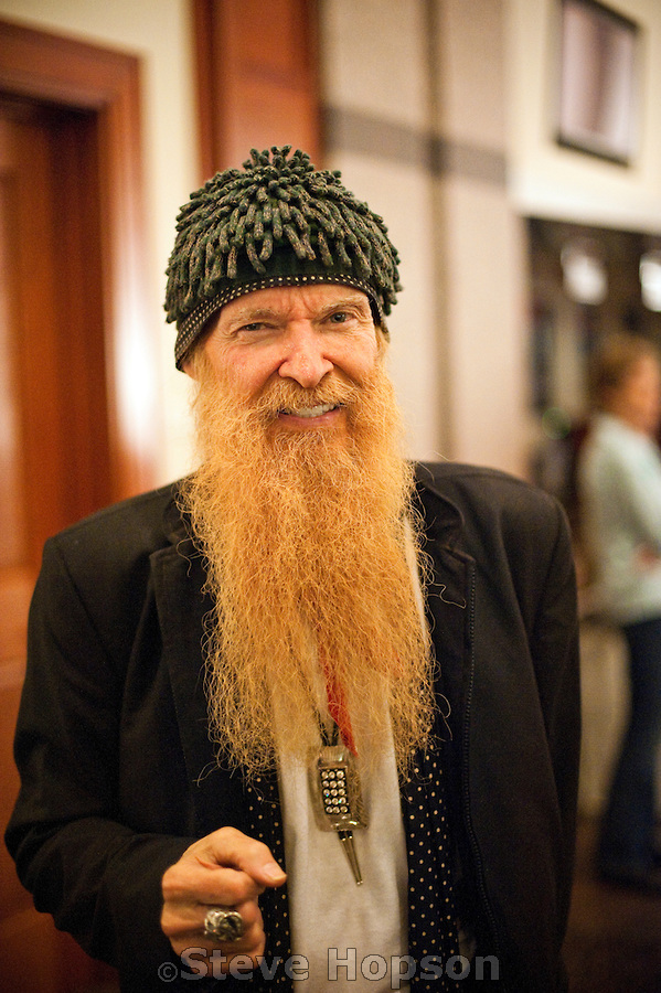 billy gibbons height