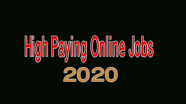 Seven Underrated High Paying Online Jobs in 2020