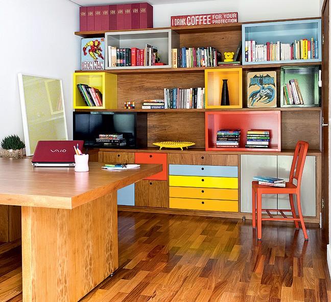 DECORA INTERI: Home Office Despojado