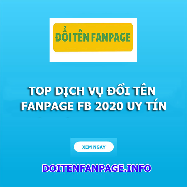 doi ten fanpage 2020
