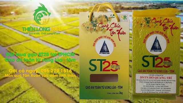 Gạo hữu cơ ST25 tôm lúa