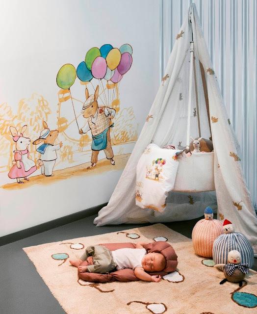decorar murales infantiles