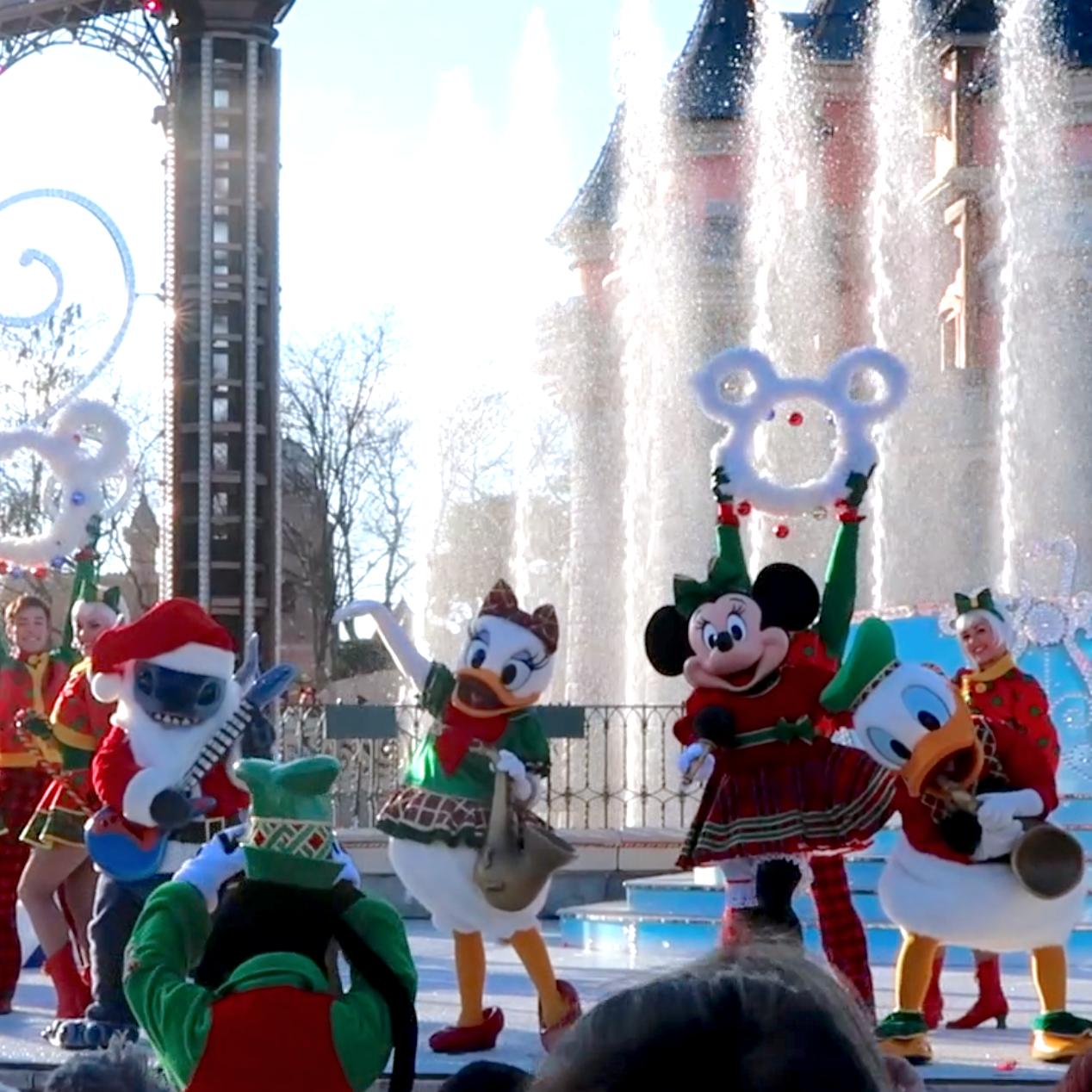 Renabelle: Disneyland Paris Christmas 2017 Day 3 Blogmas Day 18