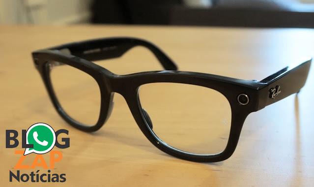Óculos inteligente Ray-Ban Stories