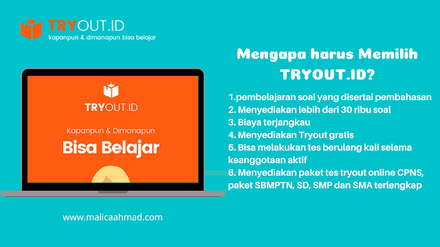 Tryout id, tryout online CPNS terpercaya