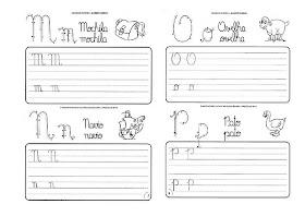 Caligrafia para imprimir e caderno de caligrafia - Atividade Caligrafia - 12