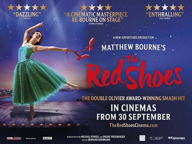 Matthew Bourne: The Red Shoes - cinema poster