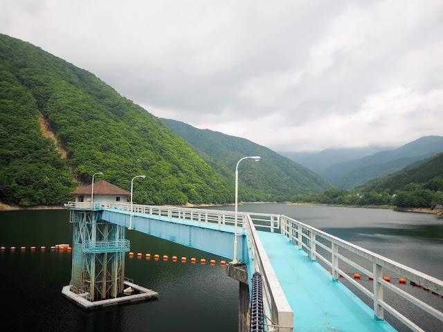 広瀬湖 取水塔