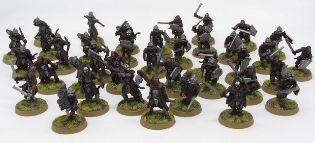 Uruk-Hai Scout Army 2020