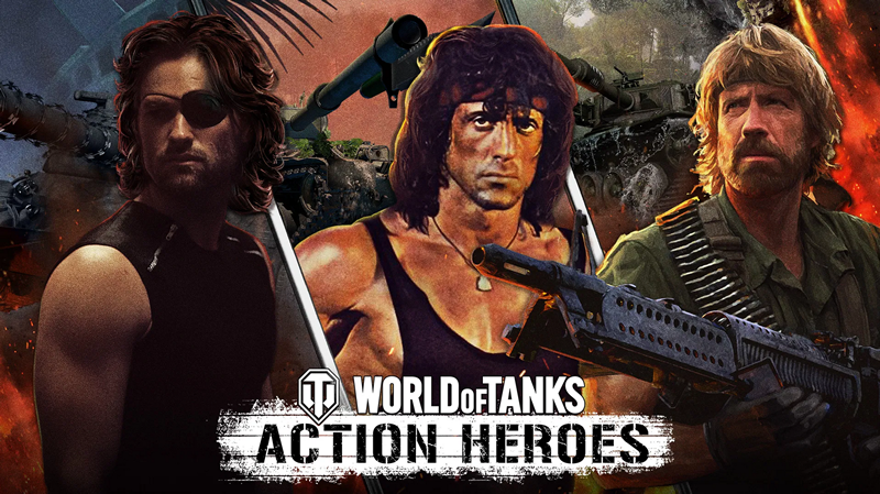 Rambo and Chuck Norris are coming to World of Tanks