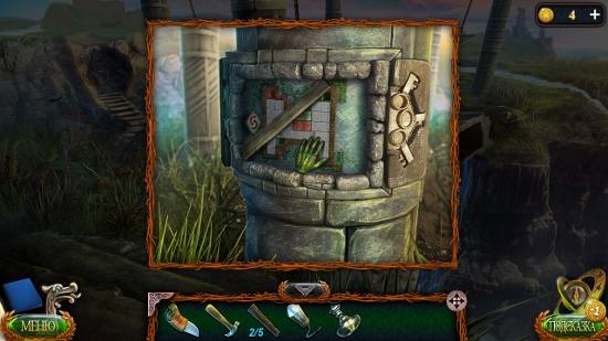 берем вещи в нише столба в игре затерянные земли 4 скиталец
