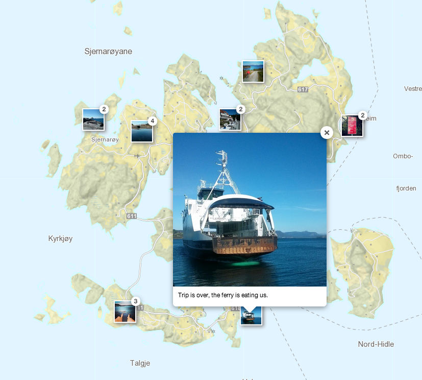 Master Maps Showing Instagram Photos And Videos On A Leaflet Map