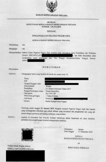 Dokumen SK PNS
