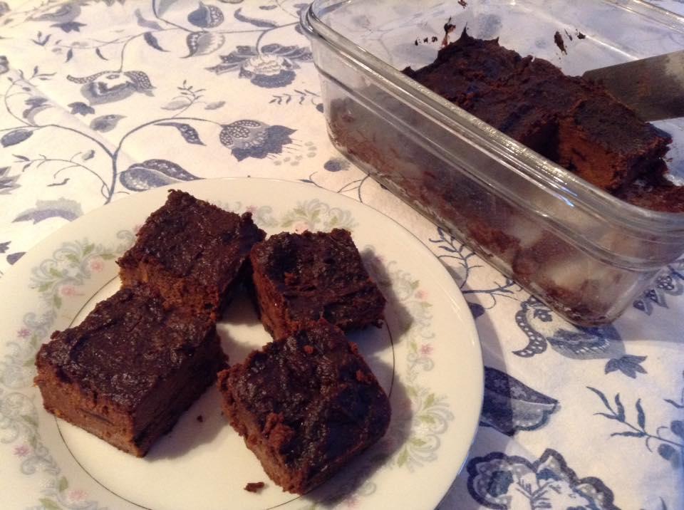 Recette Land Recette De Brownies Au Chocolat Et Patate Douce Ig