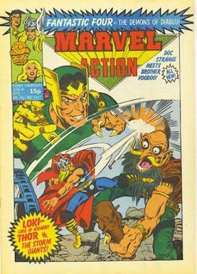 Marvel Action #11, Thor and Loki