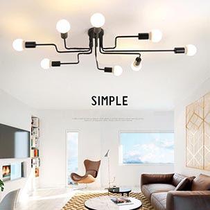 Những công dụng của đèn led ốp trần phòng khách mà bạn có thể chưa biết