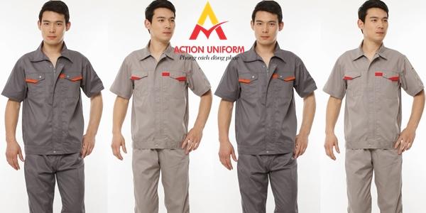 Mẫu đồng phục bảo hộ lao động 3