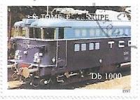 Selo Trem azul
