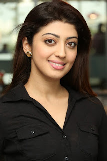 Praneetha Subhash Look So Pretty In Black Shirt