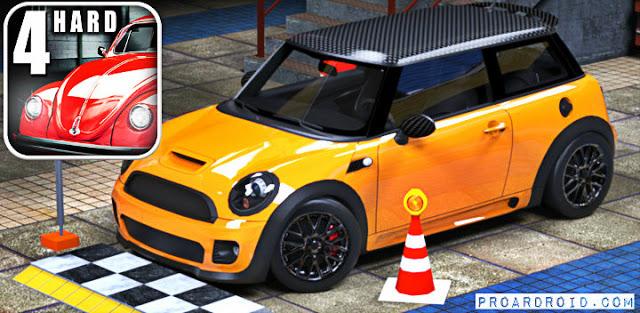 لعبة تعلم القيادة Car Driver 4 (Hard Parking) v2.2 كاملة للأندرويد
