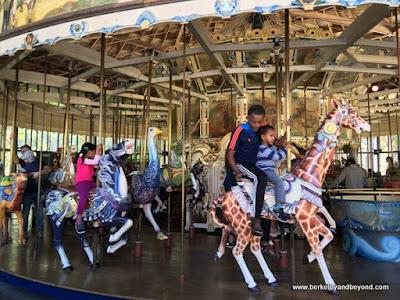 carousel in Golden Gate Park in San Francisco, California