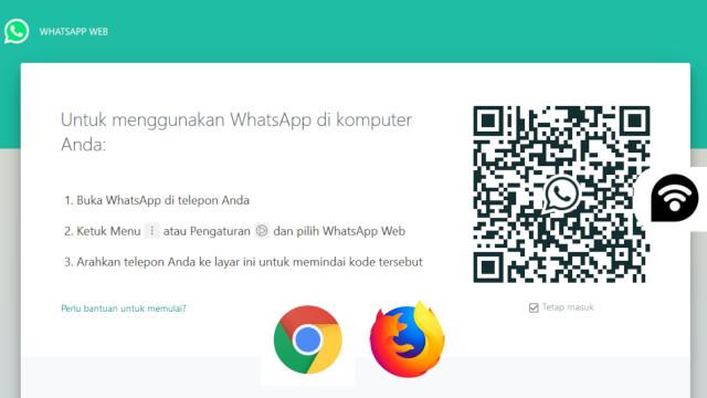 Cara Menggunakan Whatsapp Web di Aplikasi Browser