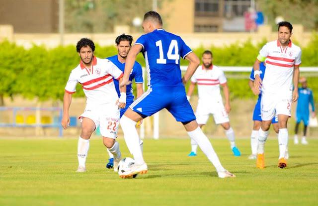 ملخص اهداف  مباراة الزمالك والجونة بتاريخ 21-07-2019 الدوري المصري