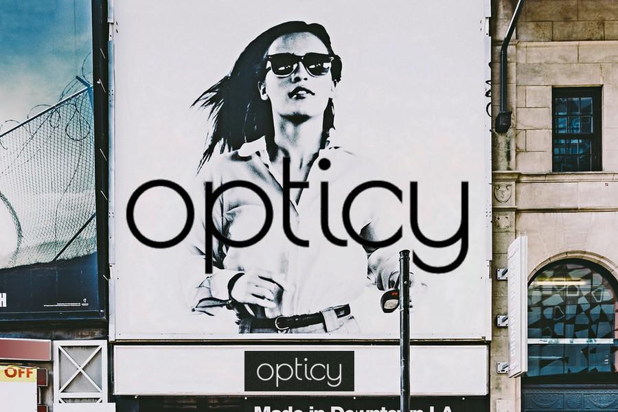 Opticy Mock Shop