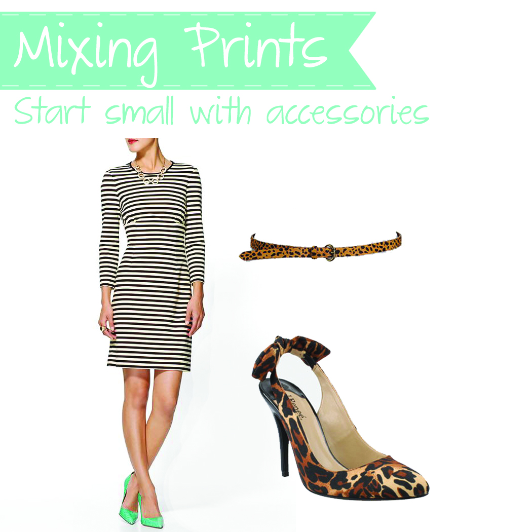 Tips And Tricks To Encourage Better Nutrition: The Fashionable Wife: How To: Mix Prints