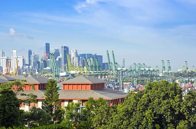 Pelabuhan di Singapura