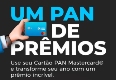 Cadastro Um PAN de Prêmios Cartão PAN Mastercard