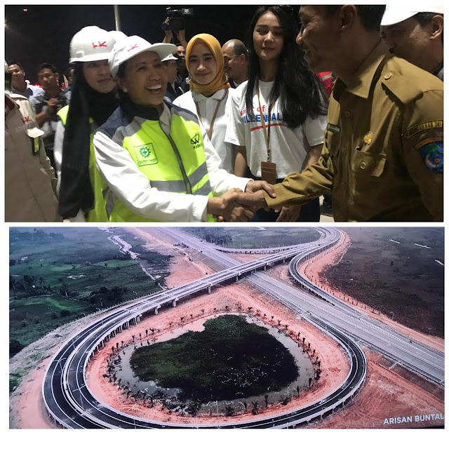 Menteri Rini Pastikan Tol Lampung- Palembang Siap Operasional