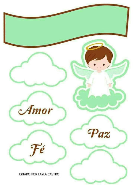 Boy in Green: Free Printable Cake Topper