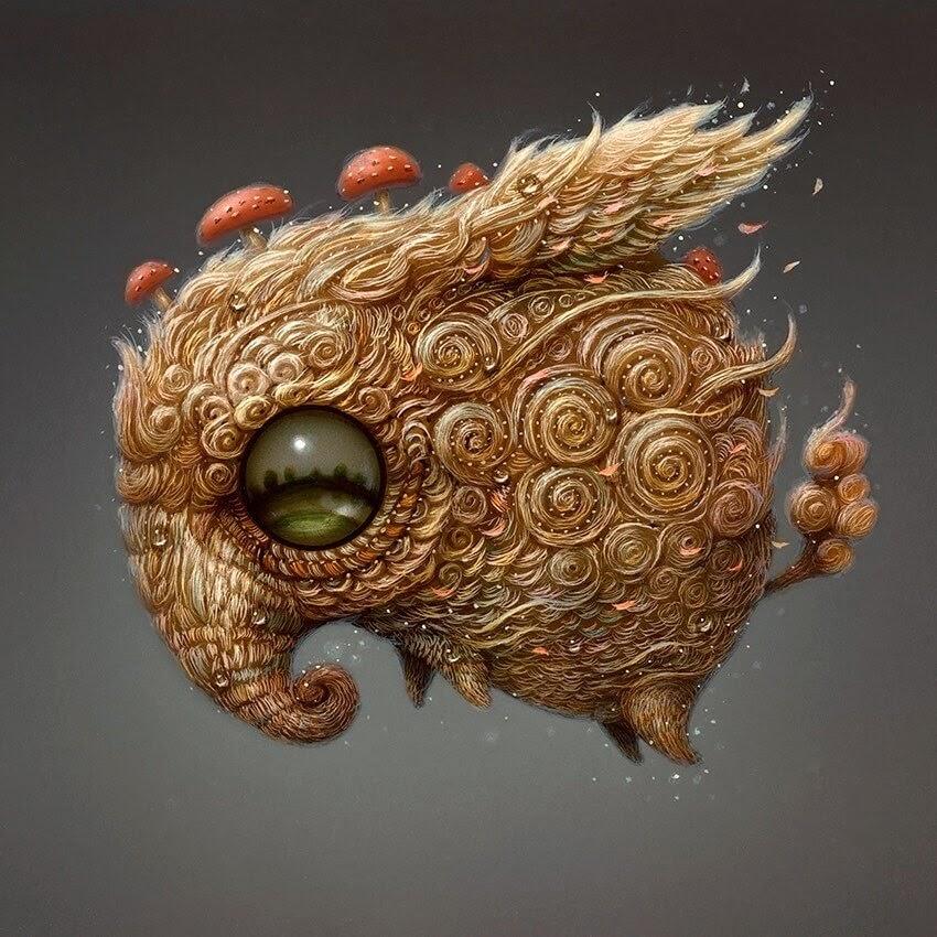 12-Elephant-like-creature-Surreal-Creature-www-designstack-co