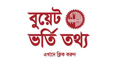 BUET admission 2019