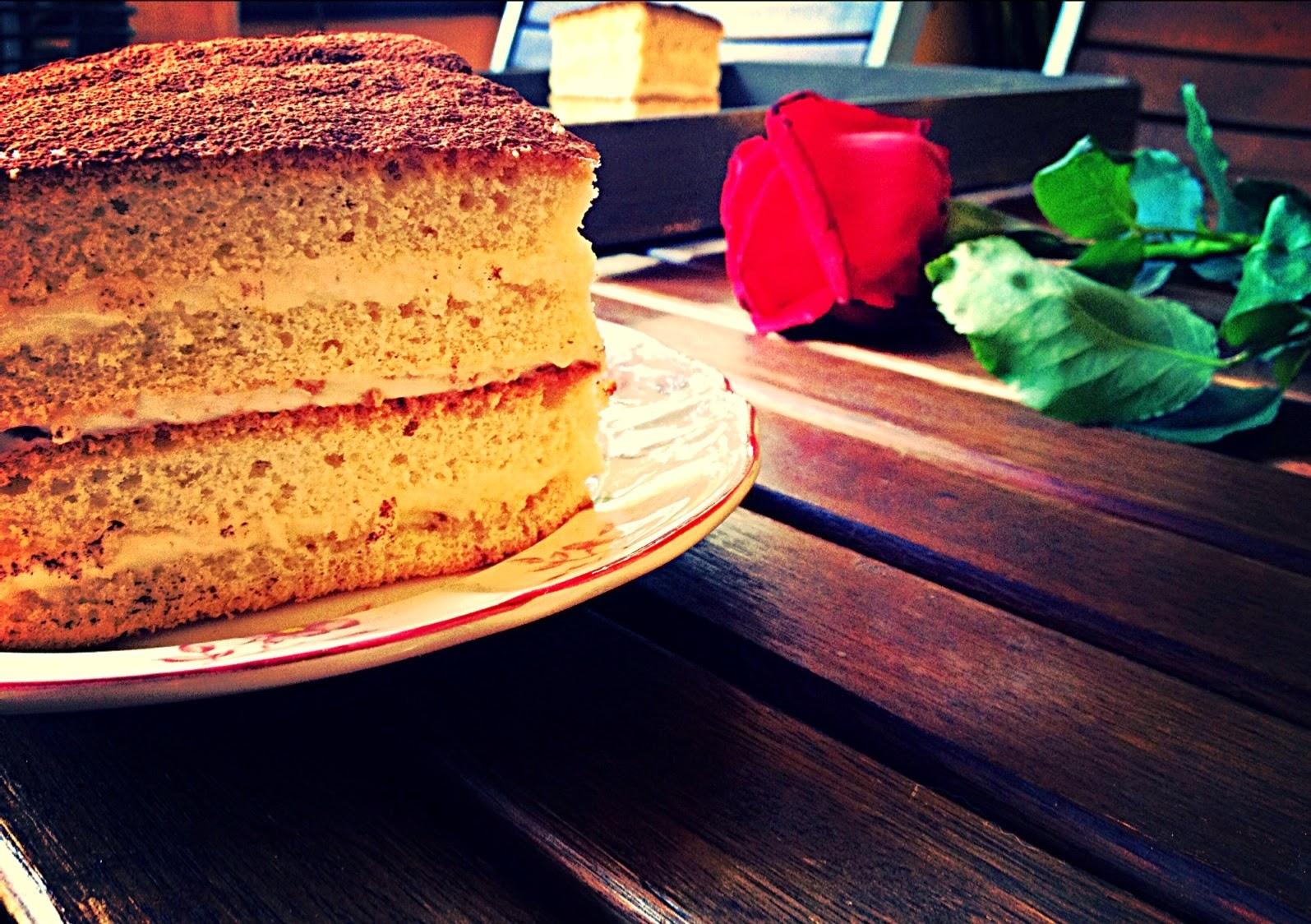 Pastel de Sant Jordi con crema de mantequilla