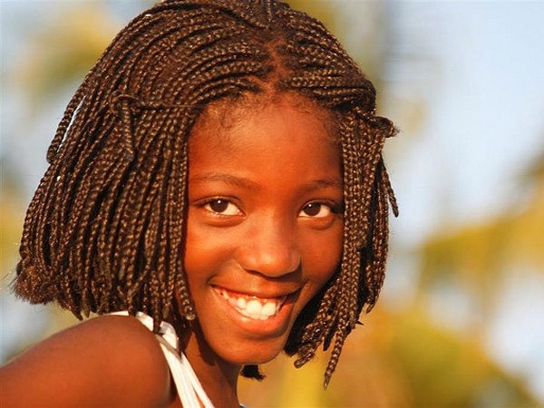 Superb Kids Hairstyles For Girls Boys For Weddings Braids African Short Hairstyles Gunalazisus