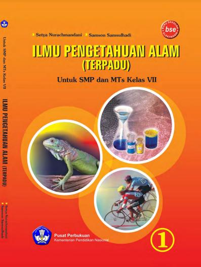 Download Buku Siswa KTSP SMP dan MTs Kelas 7 Ilmu Pengetahuan Alam (Terpadu)