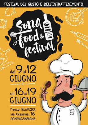 Sona Food and Wine Festival dal 9 al 19 giugno Sommacampagna (Vr)