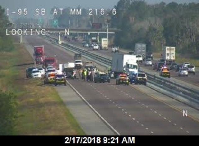 Brevard County deputy dies in crash on I-95 near Titusville