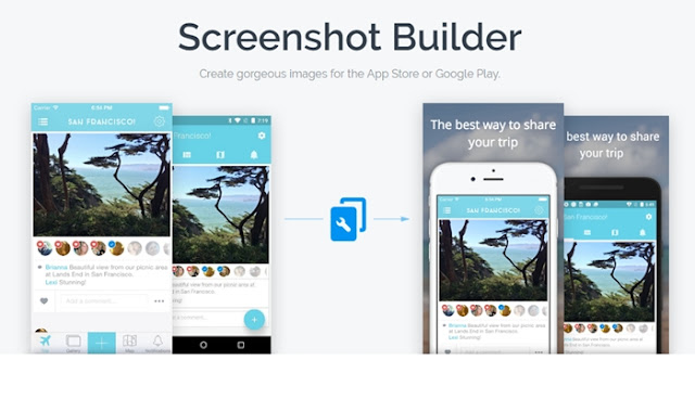 iOS App Screenshots Builders