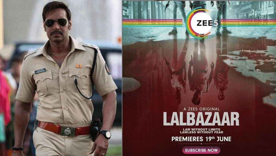 LalBazaar में Ajay Devgn करेंगे जुर्म का अंत, क्राइम और थ्रिलर से भरपूर यहां हुई रिलीज