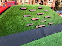 人工草皮複層地墊