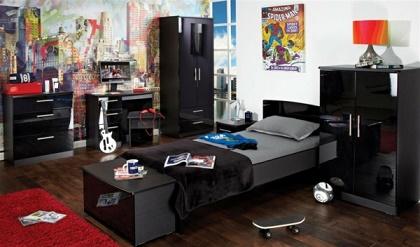 Dormitorios juveniles para chico var n dormitorios for Mural habitacion juvenil