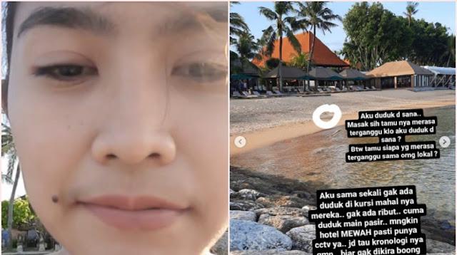 """Viral Curhat Wanita Lokal Diusir dari Pantai Sanur, """"Apakah Pantai Bali Sudah Dijual?"""""""